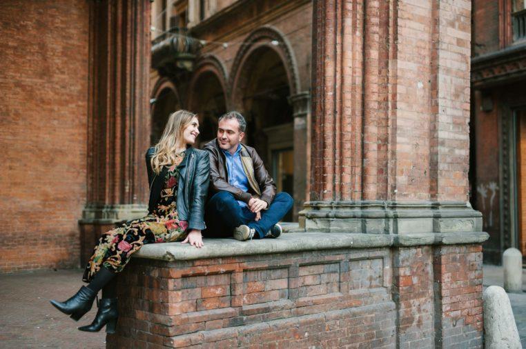 servizio fotografico prematrimoniale a Bologna mamaphoto